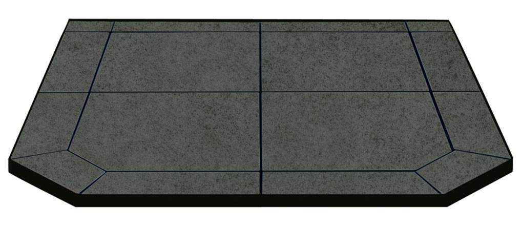 Charcoal floor protector