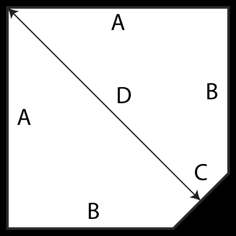 Hearth Originals single LOP corner diagram