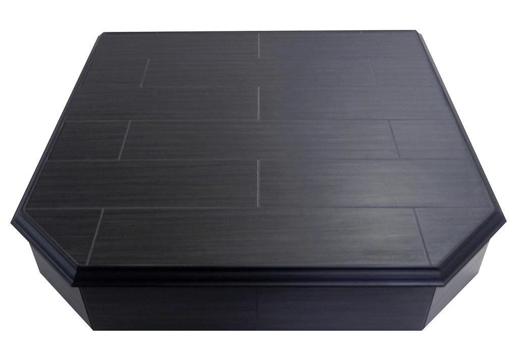 Signature Series Wood Black floor protector