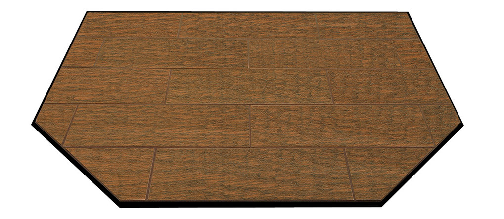 Woodland Brown floor protector