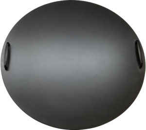 Round Smokey's gas fire pit cover